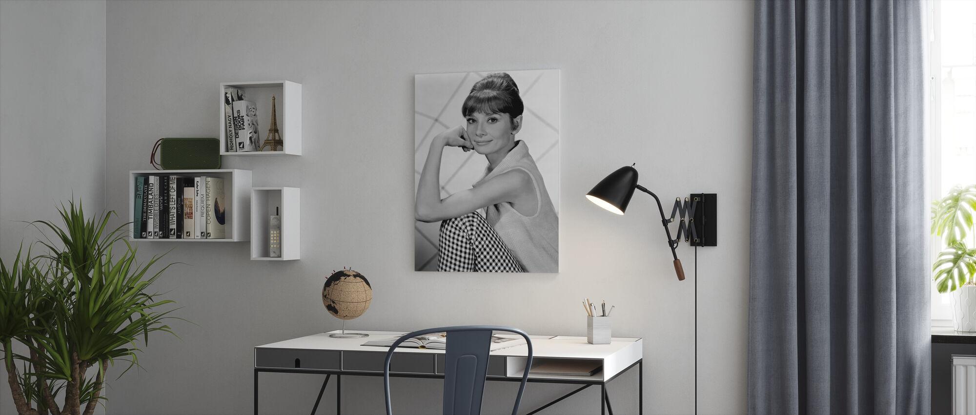 Aud 1960 - Canvas print - Kantoor