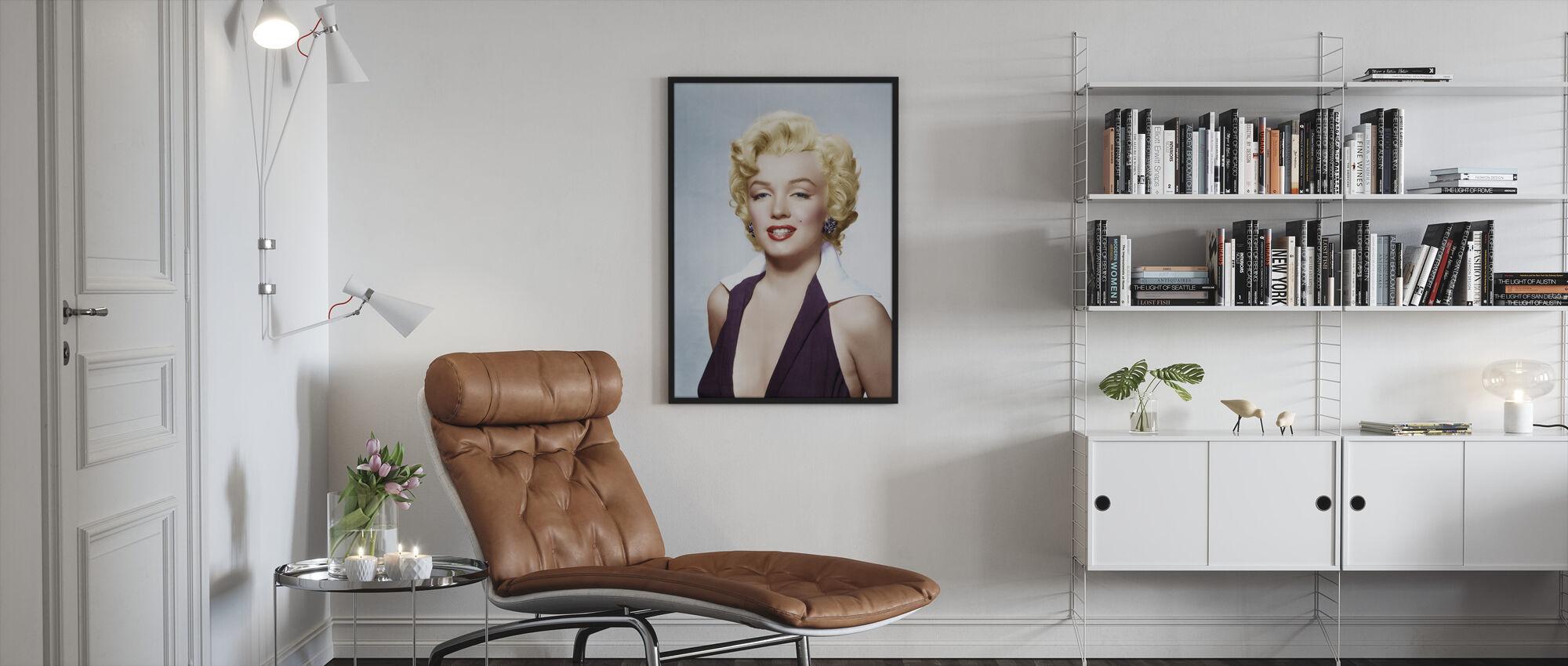 Blond - Innrammet bilde - Stue