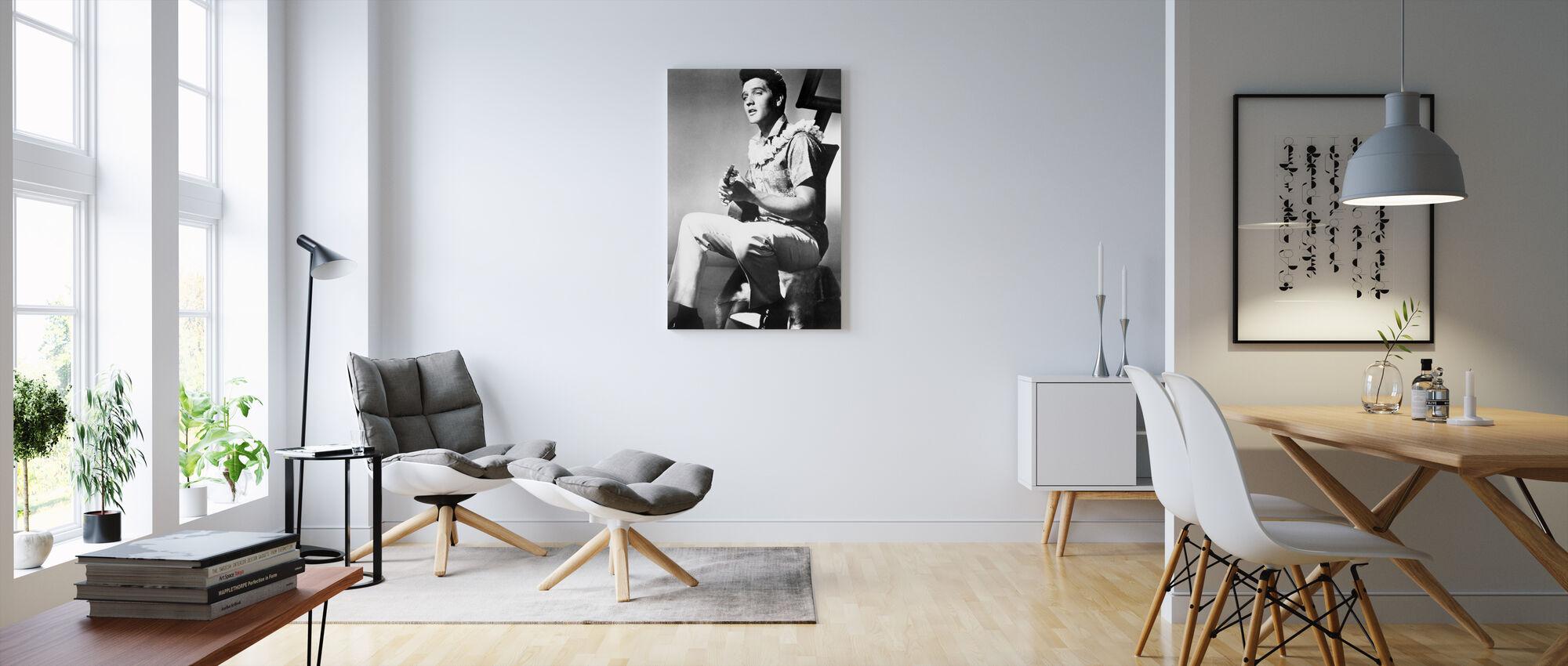 Blue Hawaii - Canvas print - Living Room