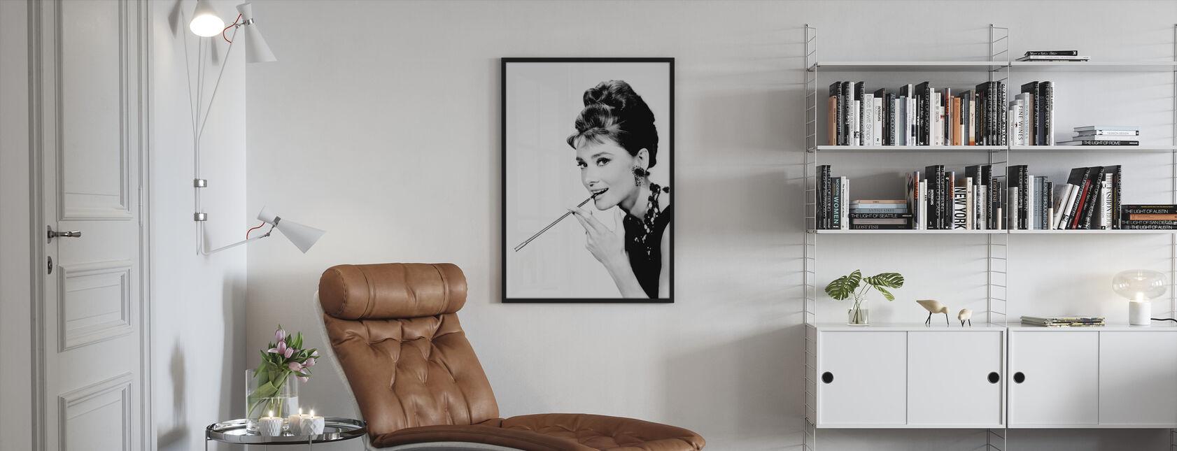 Breakfast at Tiffany's - Framed print - Living Room