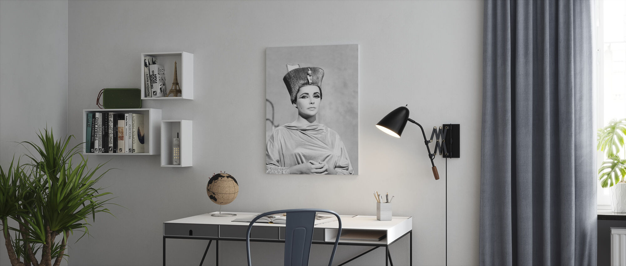 Cleopatra - Canvas print - Office
