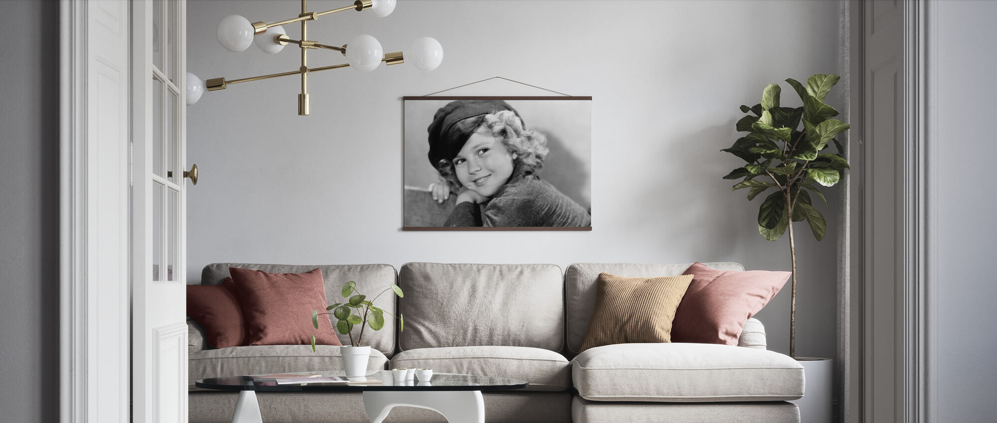 Dimples - Poster - Living Room