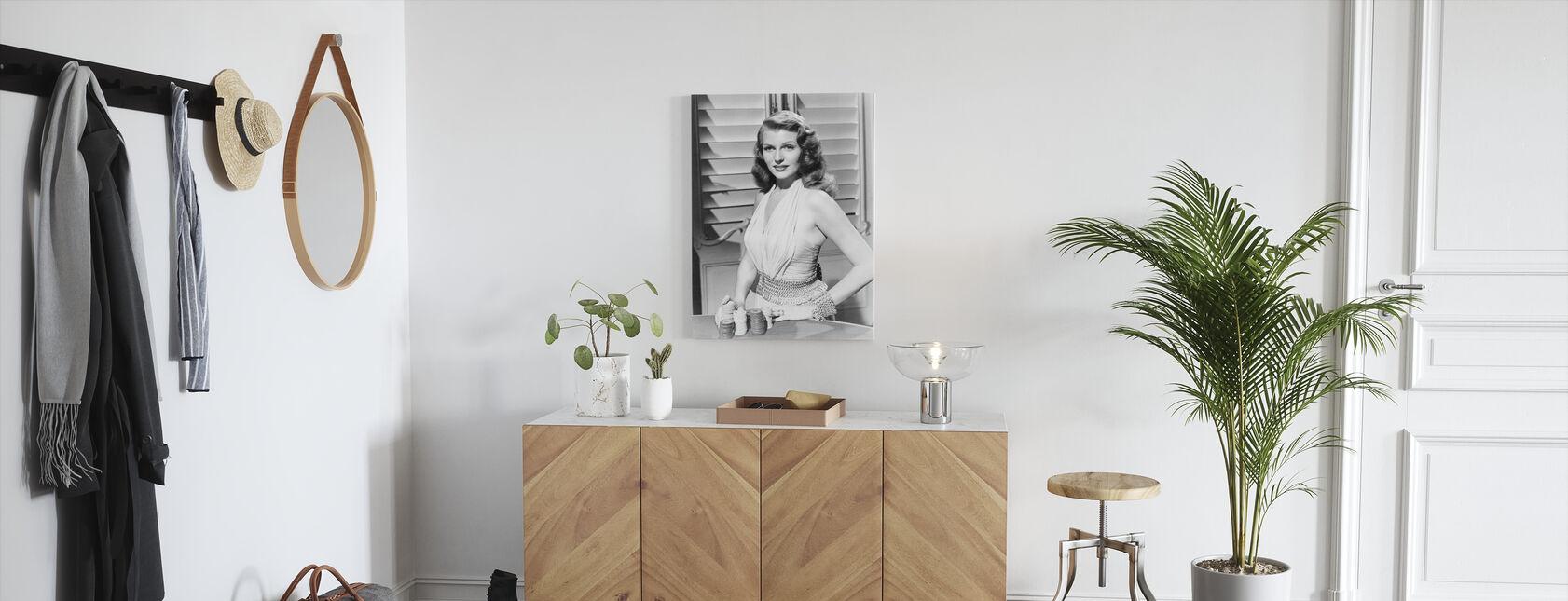 Gilda - Canvas print - Hallway
