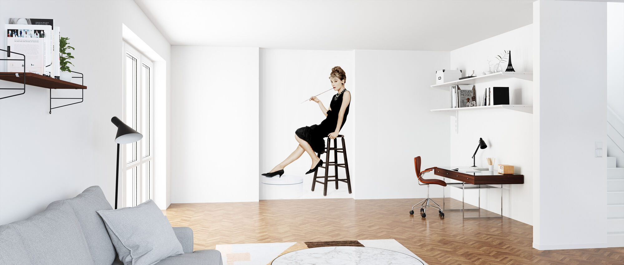 Holly Golightly - Wallpaper - Office