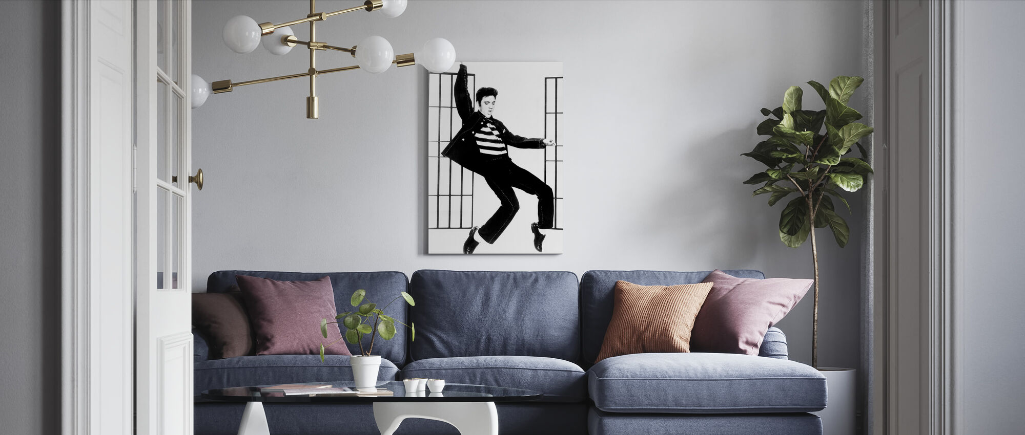 Jailhouse Rock - Canvas print - Living Room
