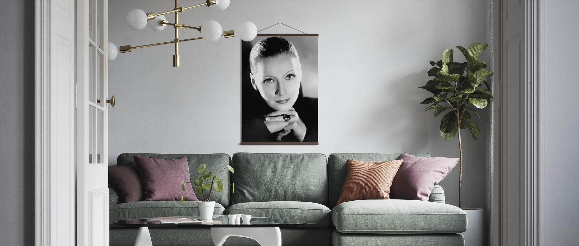 Mata Hari - Poster - Living Room