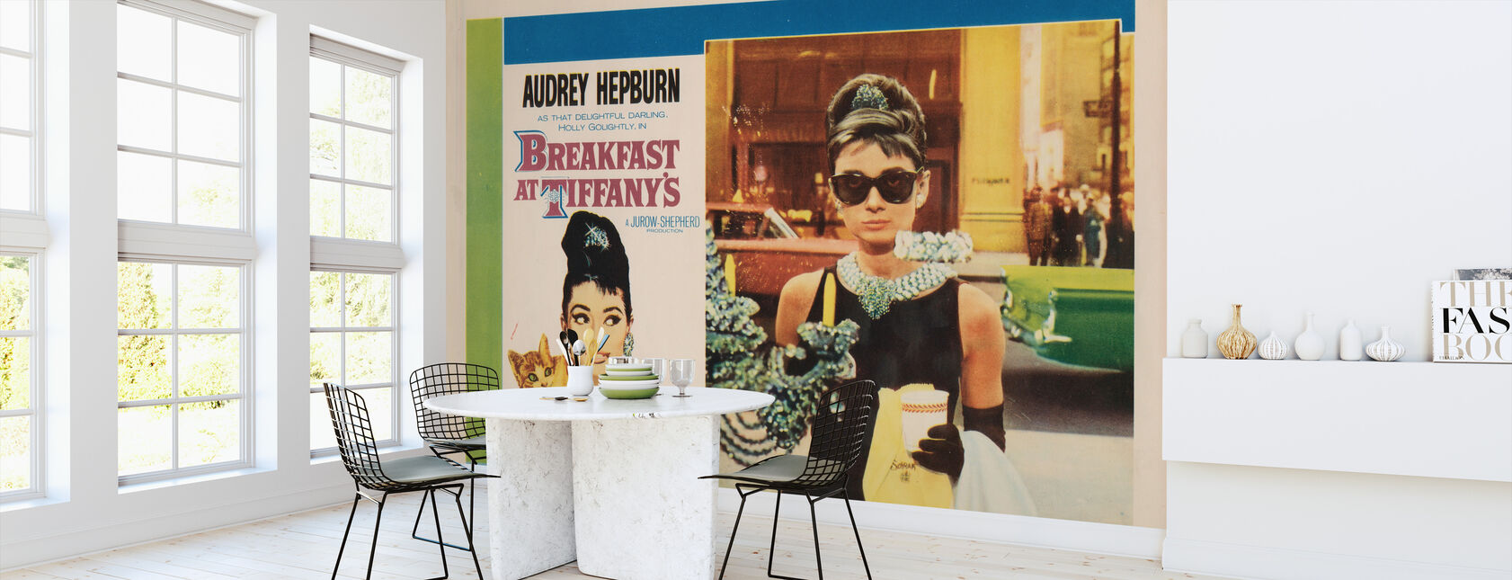 Movie Poster Breakfast at Tiffany's - Wallpaper - Kitchen