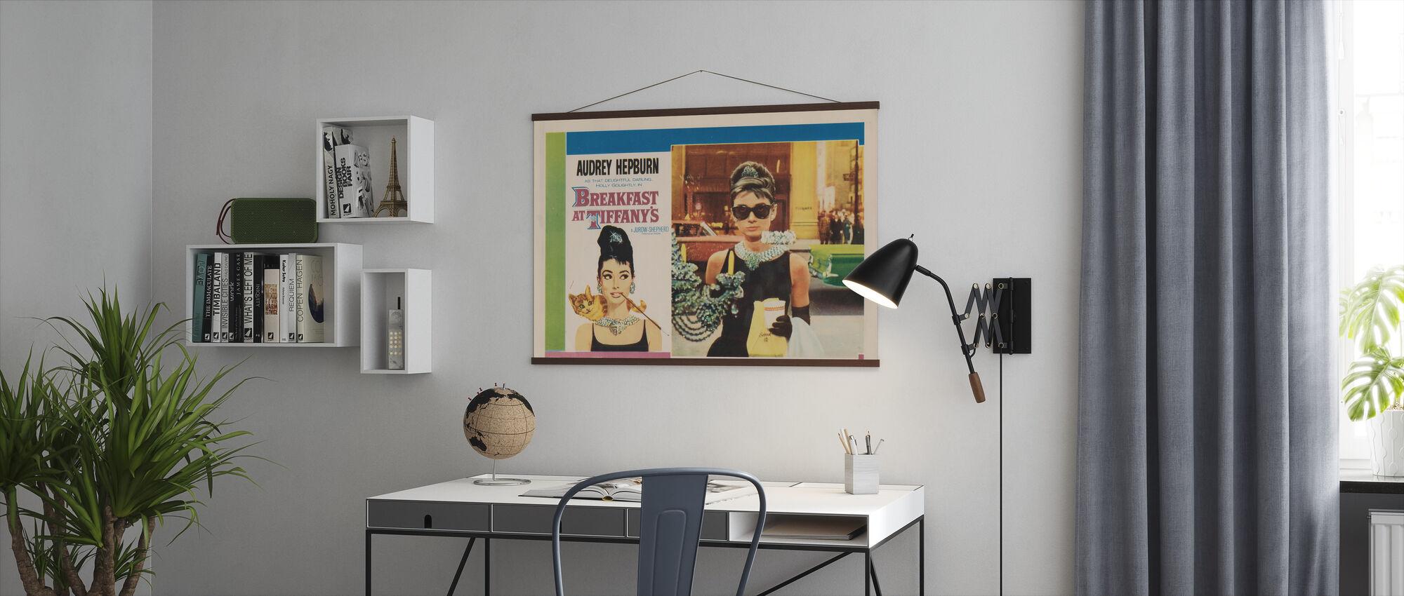Plakat filmowy Śniadanie u Tiffany 'ego - Plakat - Biuro