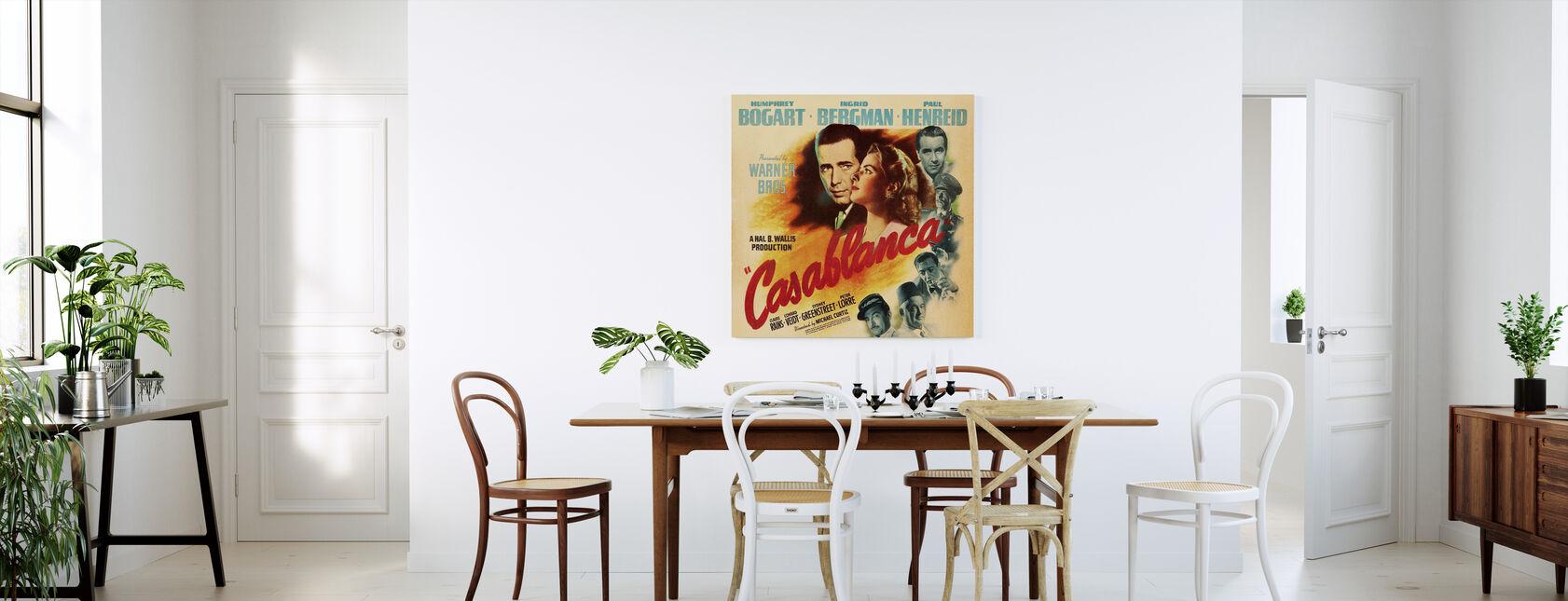 Filmposter Casablanca - Canvas print - Keuken