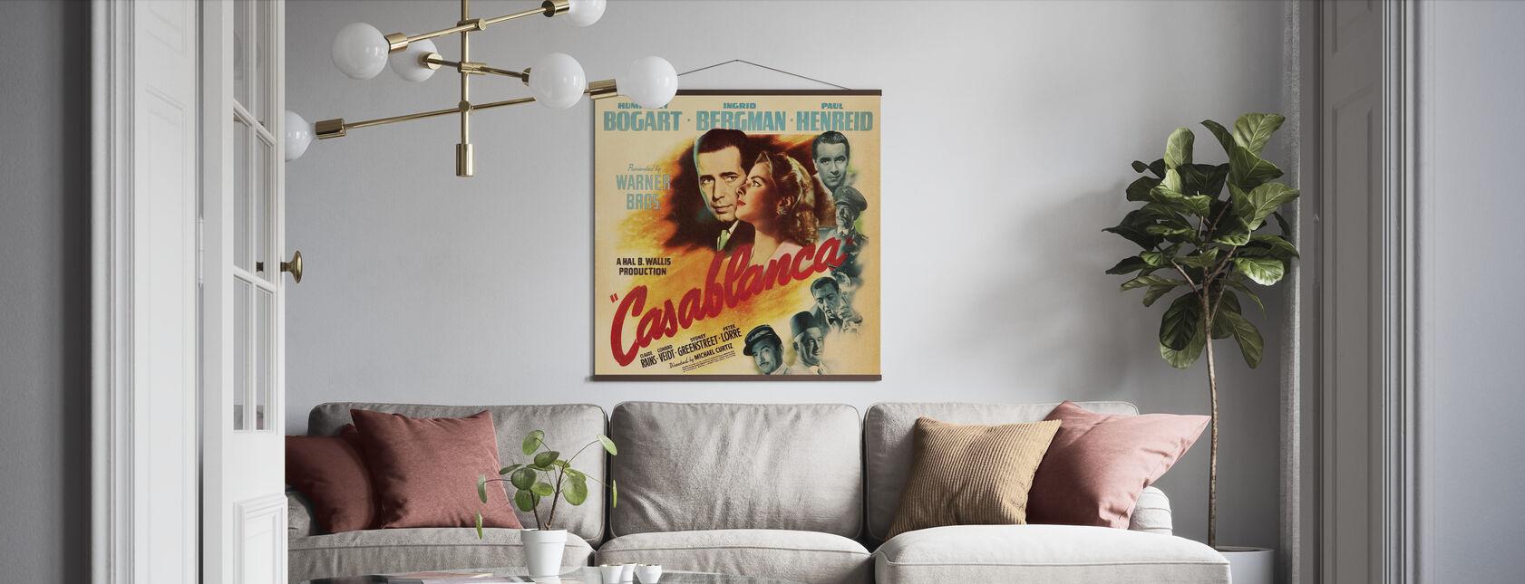 Movie Poster Casablanca - Poster - Living Room