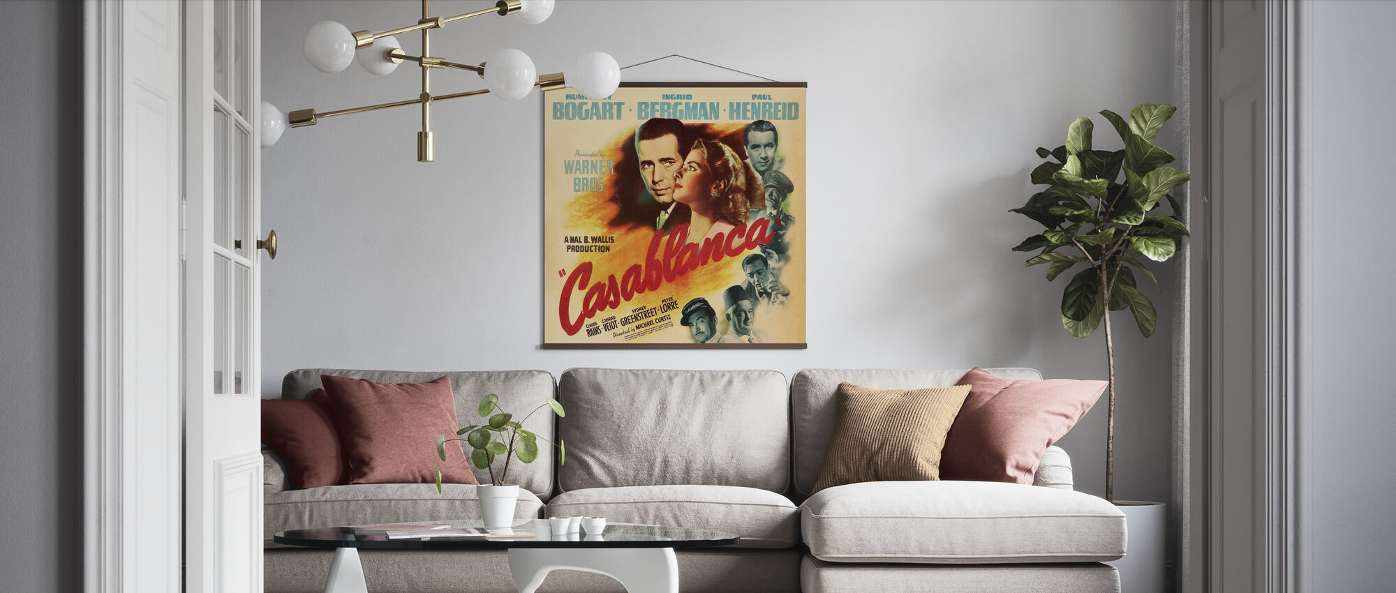 Movie Poster Casablanca - Poster - Living Room