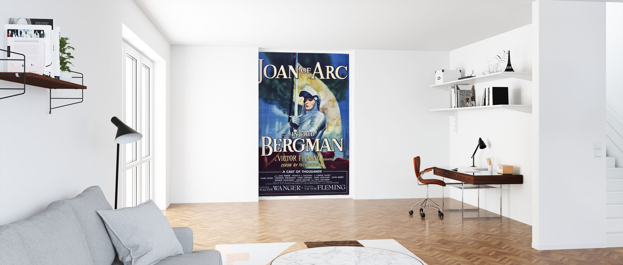 Movie Poster Joan of Arc - Wallpaper - Office