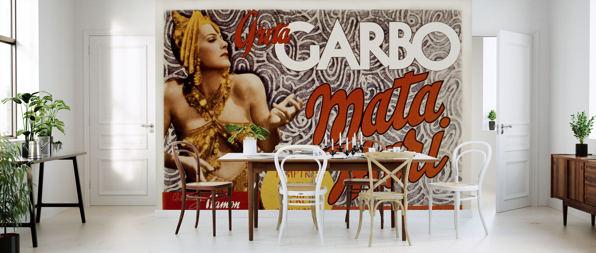 Film Poster Mata Hari 2 - Behang - Keuken