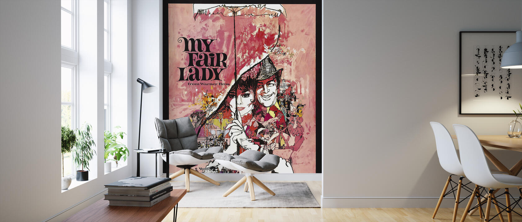 movie poster my fair lady fototapete nach ma photowall. Black Bedroom Furniture Sets. Home Design Ideas