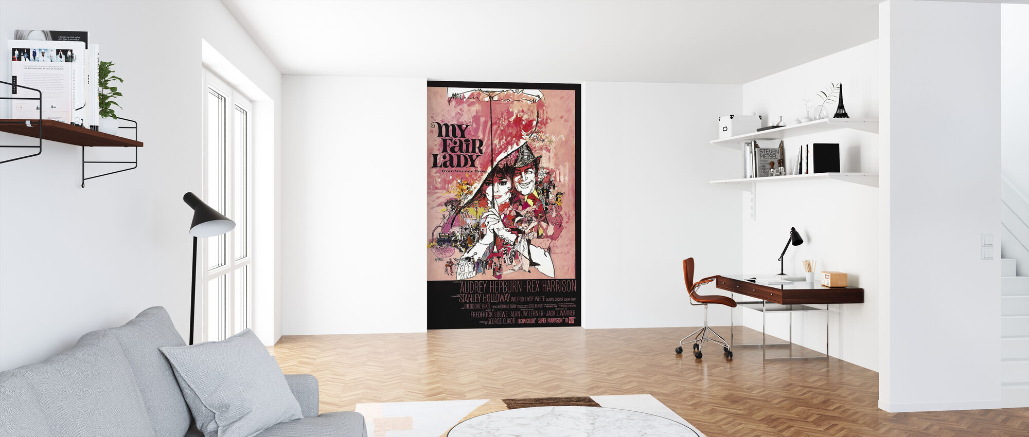 Filmposter Mijn Fair Lady - Behang - Kantoor