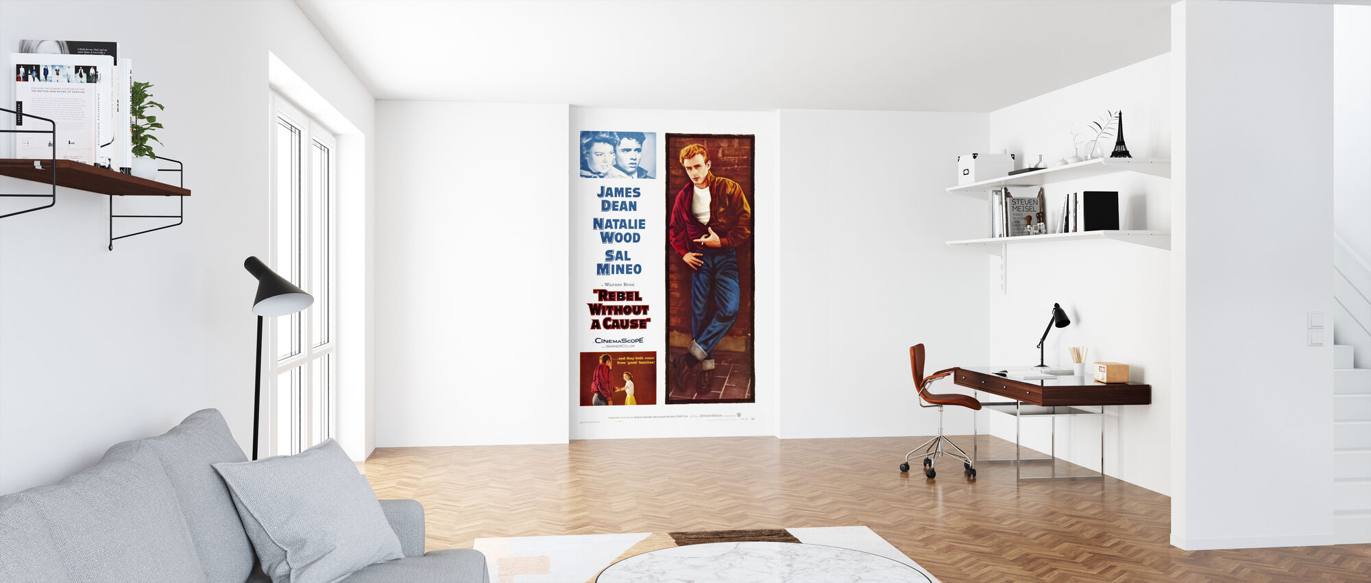Movie Poster Rebel without a Cause - Wallpaper - Office