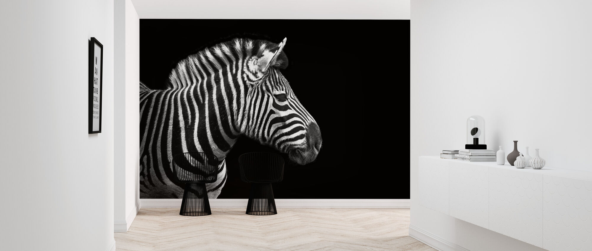 Zebra - Tapet - Hall