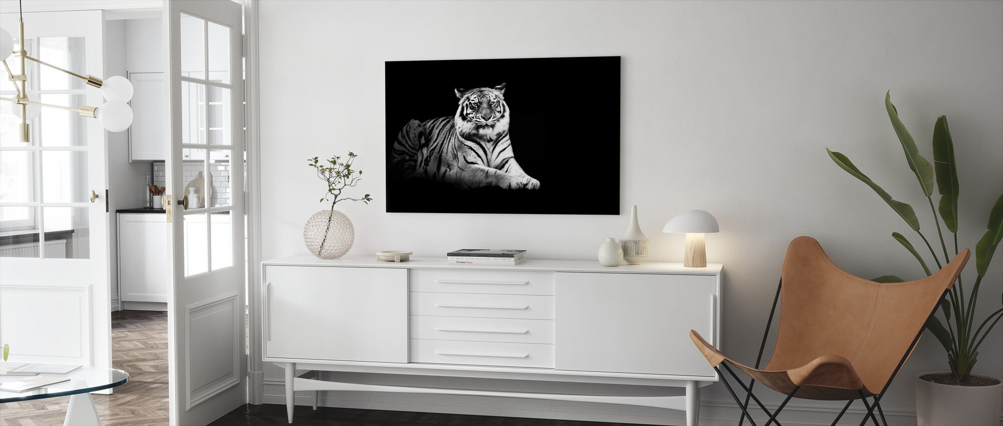 Don't Make a Fuss - Canvas print - Living Room