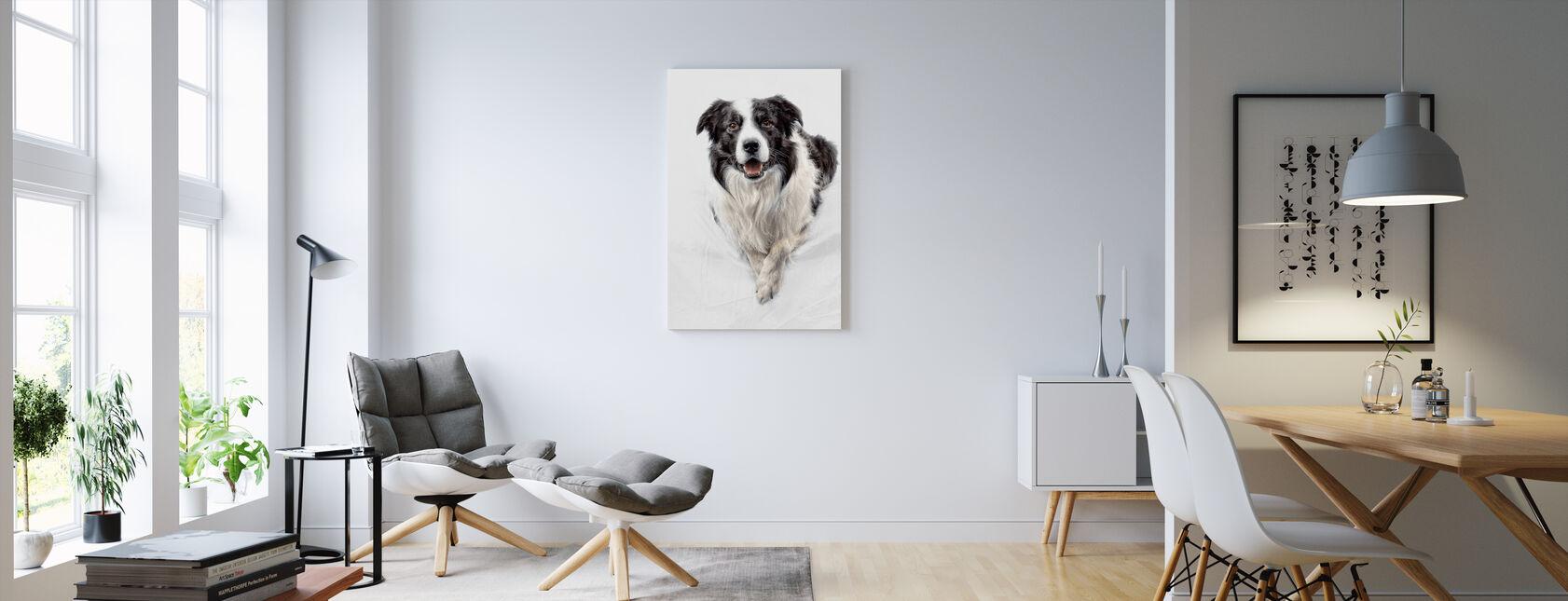 Border Collie - Canvas print - Living Room