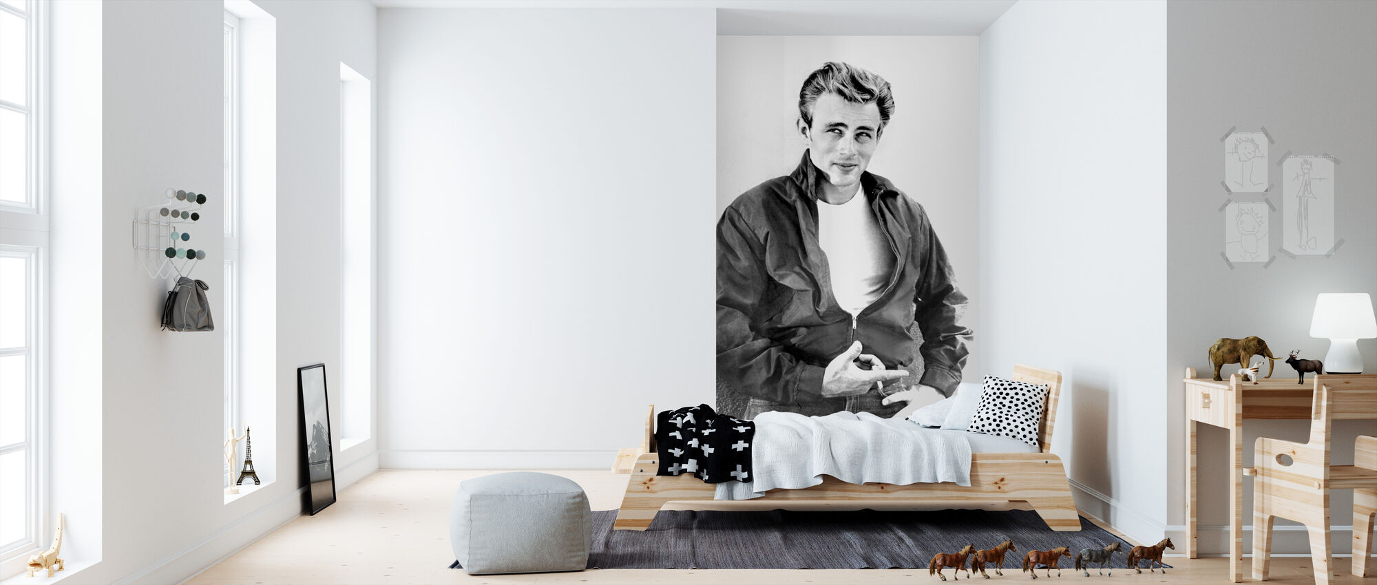 Rebel without a Cause - Wallpaper - Kids Room