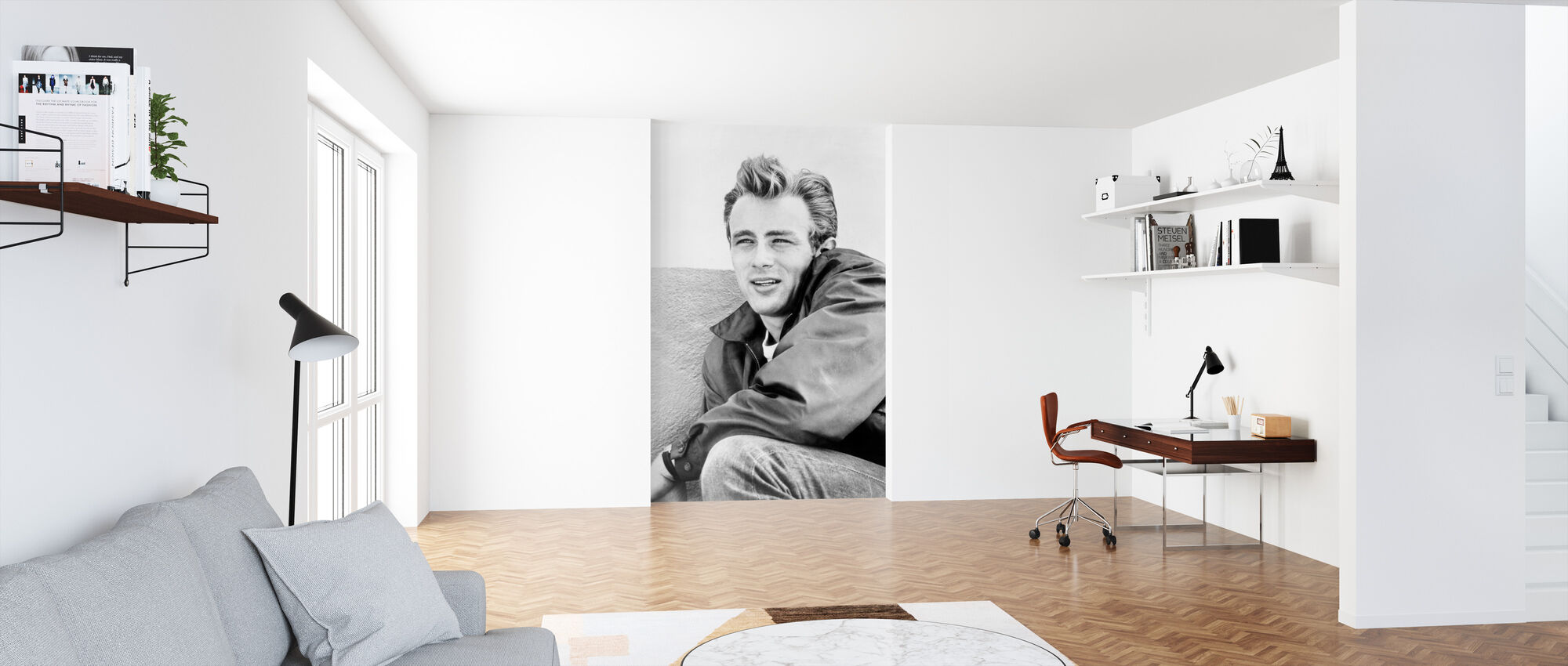 Rebel without a Cause 2 - Wallpaper - Office