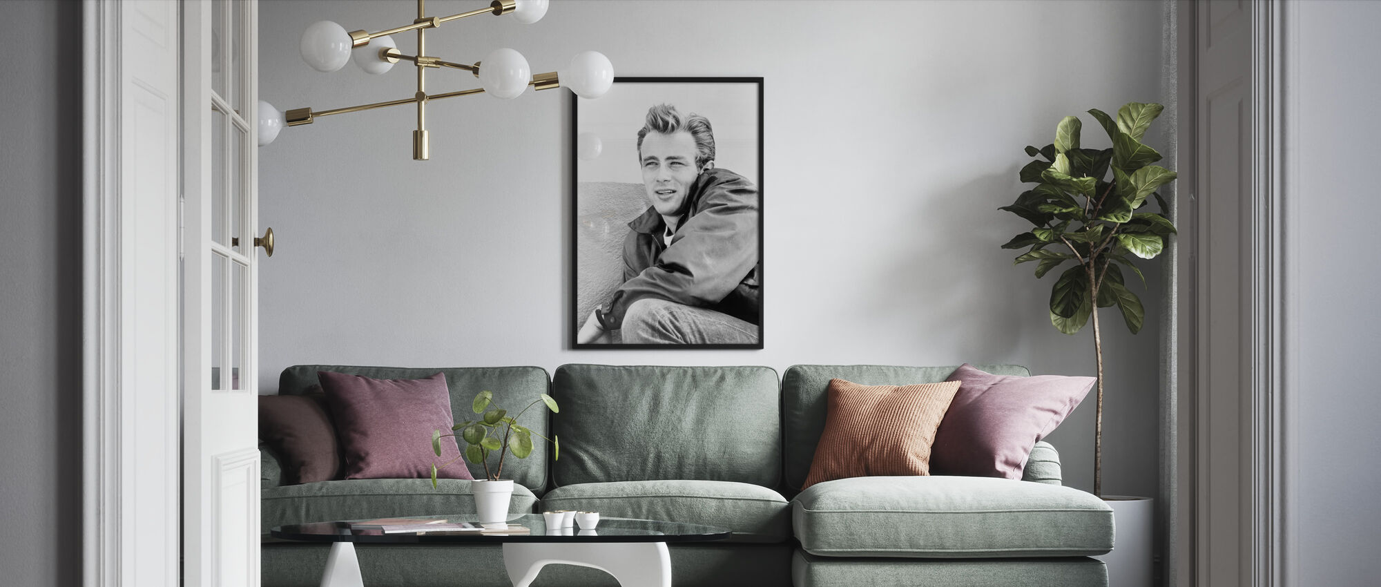 Rebel without a Cause 2 - Framed print - Living Room