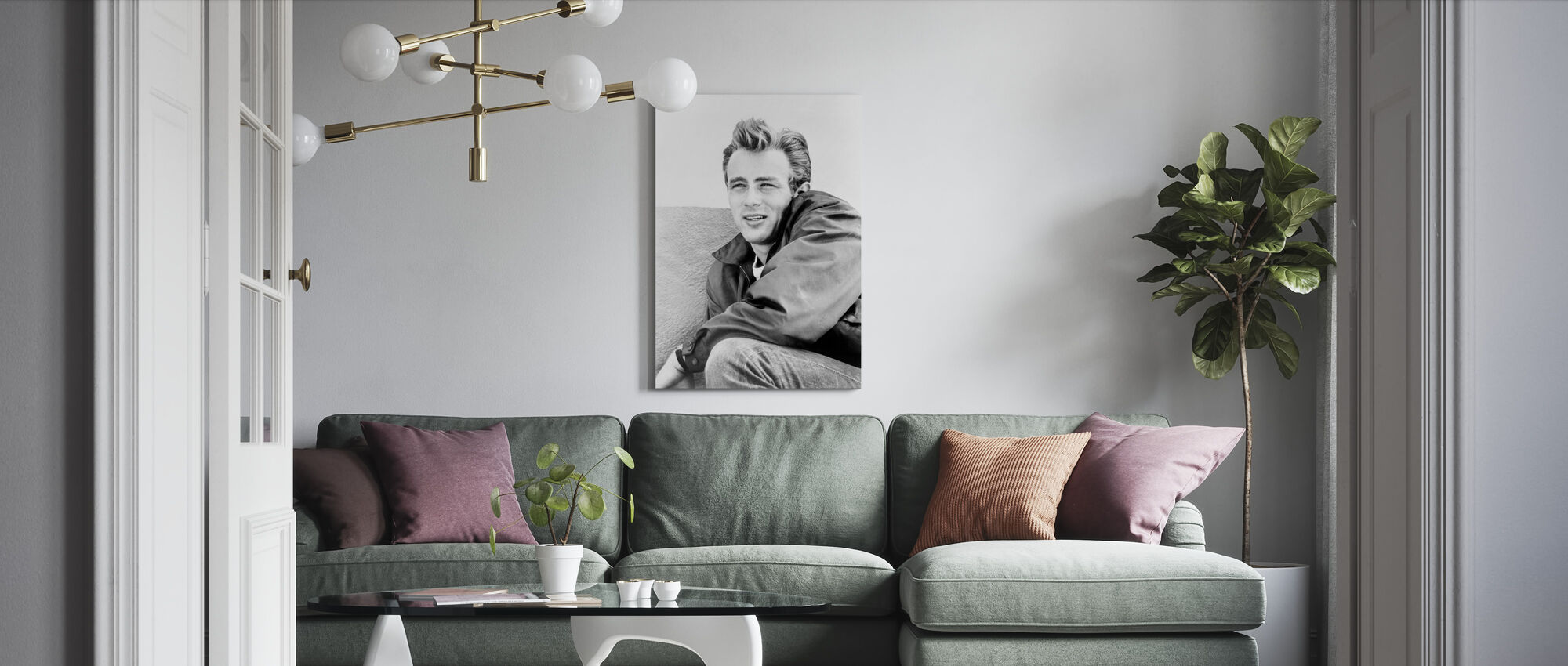 Rebel without a Cause 2 - Canvas print - Living Room
