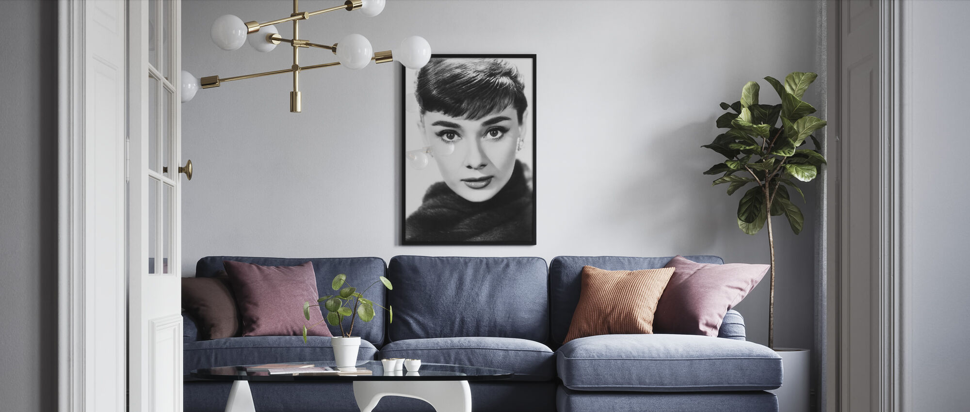 -Sabrina - Innrammet bilde - Stue