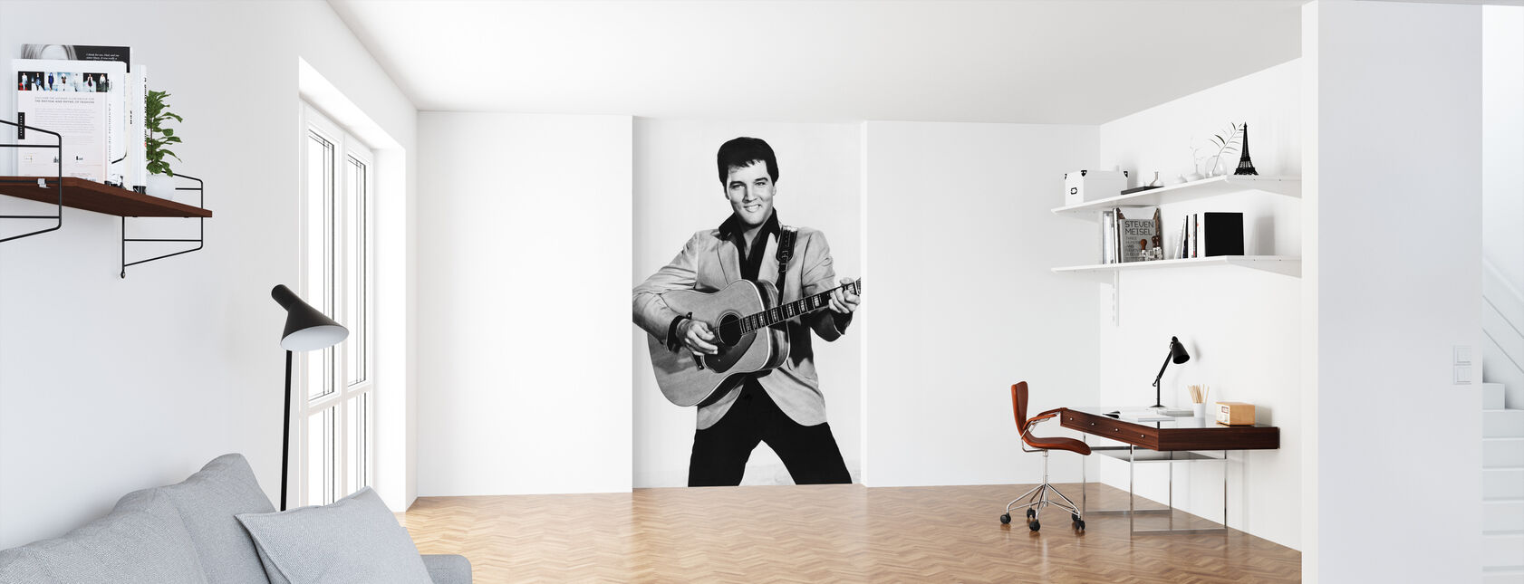Kungen 1960-talet - Tapet - Kontor
