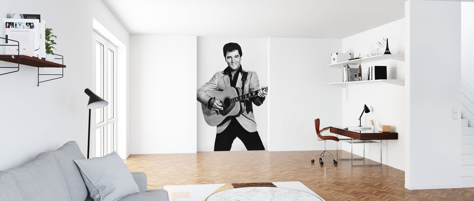 The King 1960s - Wallpaper - Office