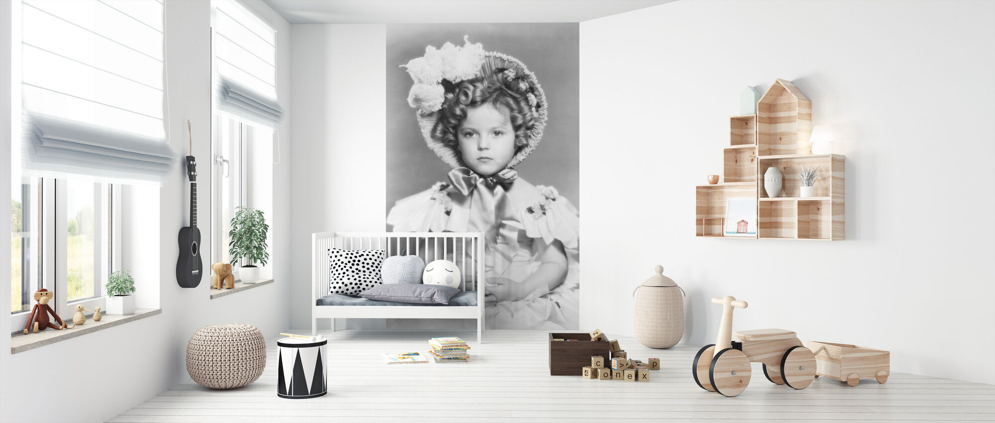 Den lilla översten - Tapet - Babyrum