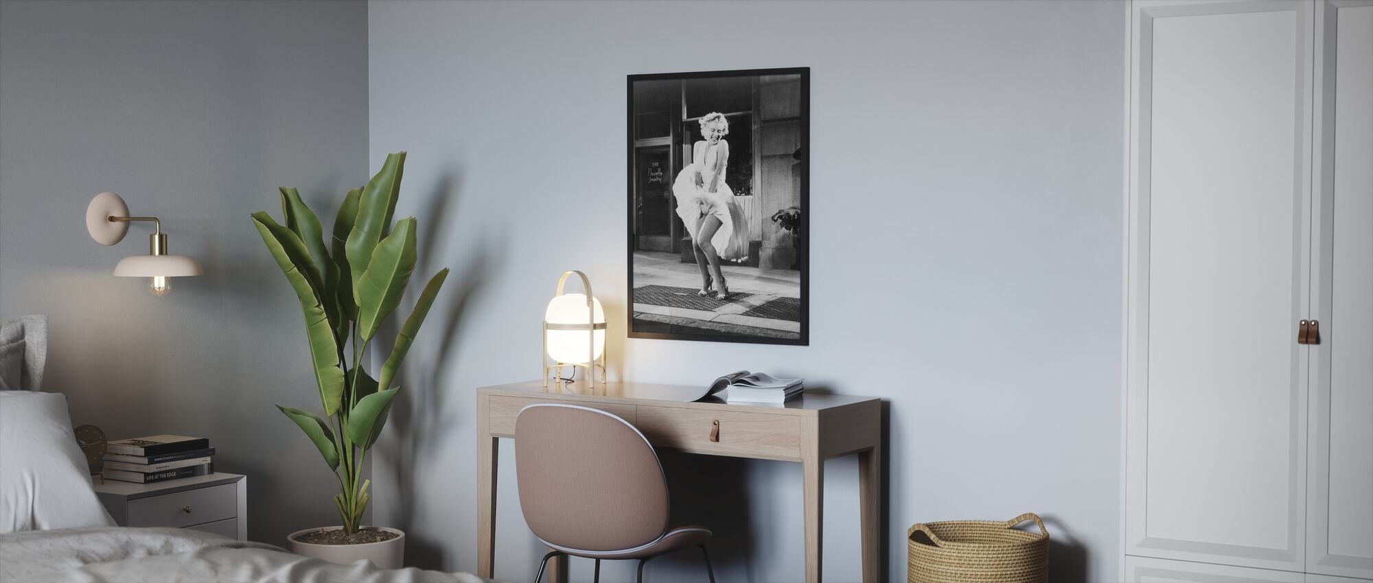 The Seven Year Itch - Framed print - Bedroom