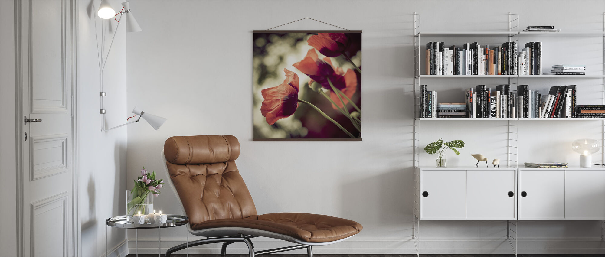 Beautiful Poppies - Poster - Living Room
