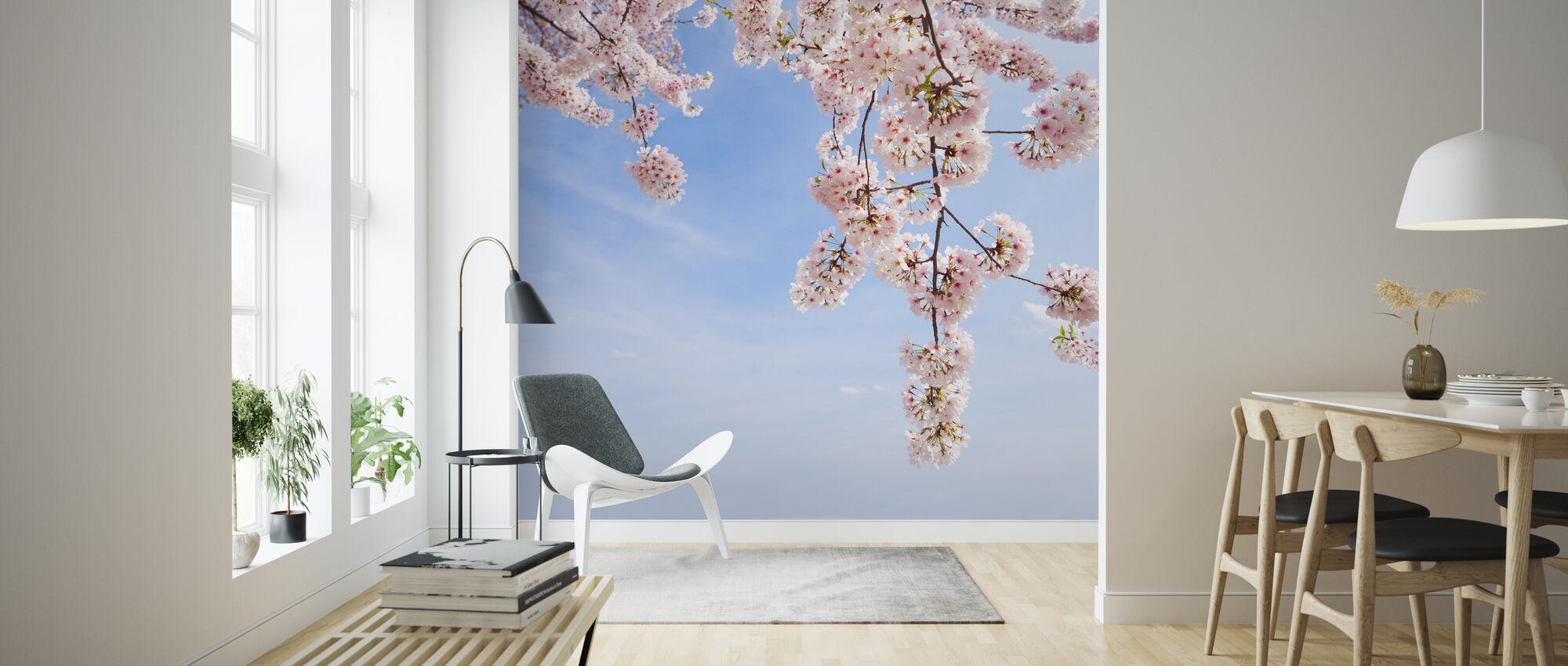 Kirsikkapuun alla - Tapetti - Olohuone