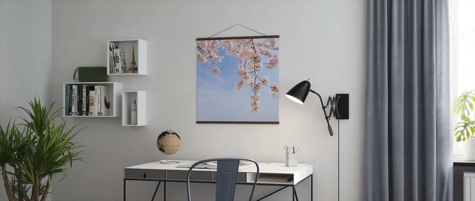 Under a Cherry Tree - Poster - Office