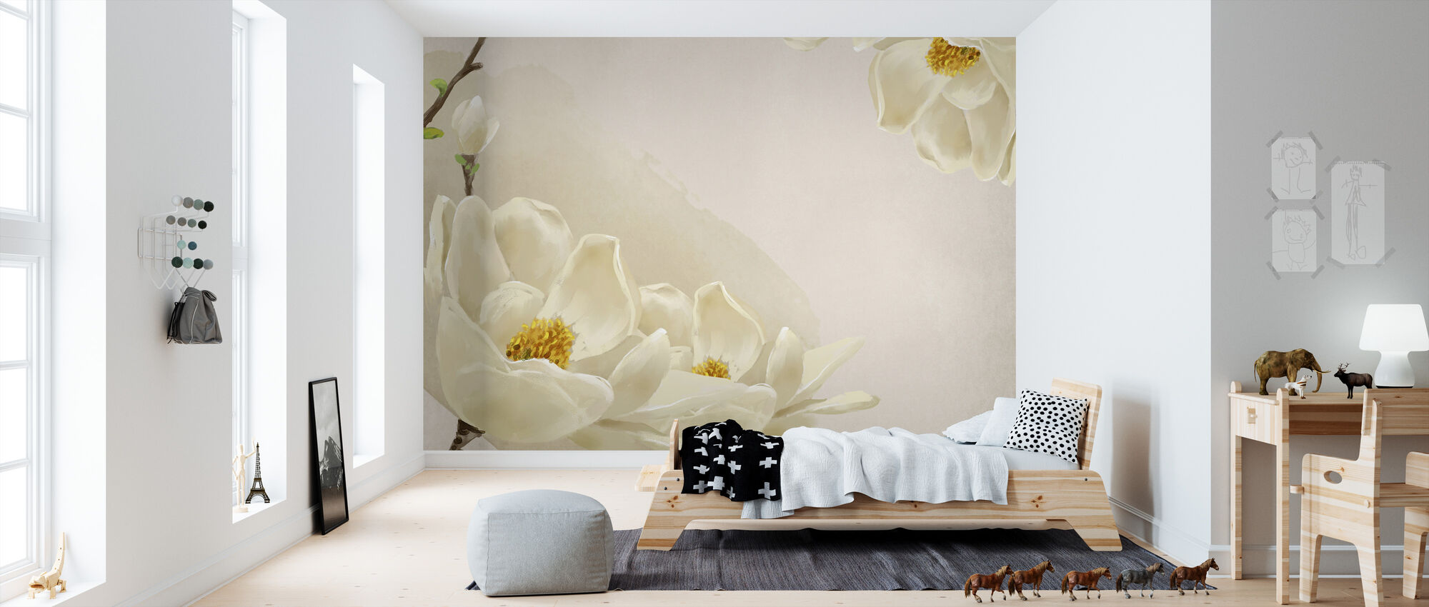 White Beauty - Wallpaper - Kids Room