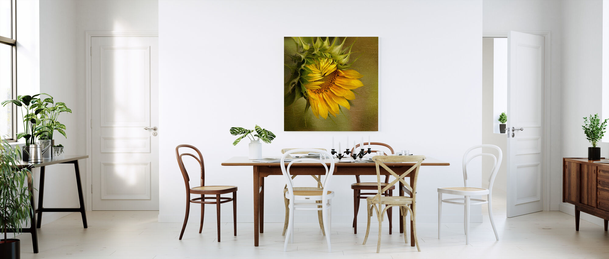 Summer's Beauty - Canvas print - Kitchen