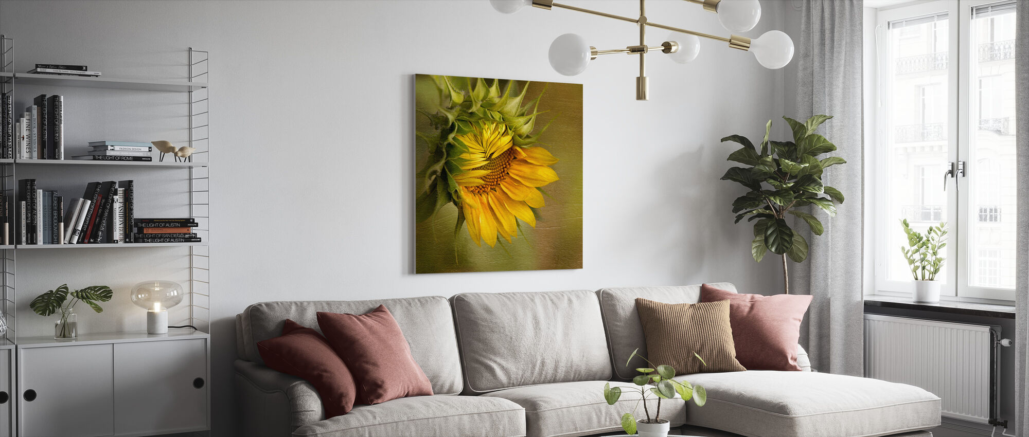 Summer's Beauty - Canvas print - Living Room