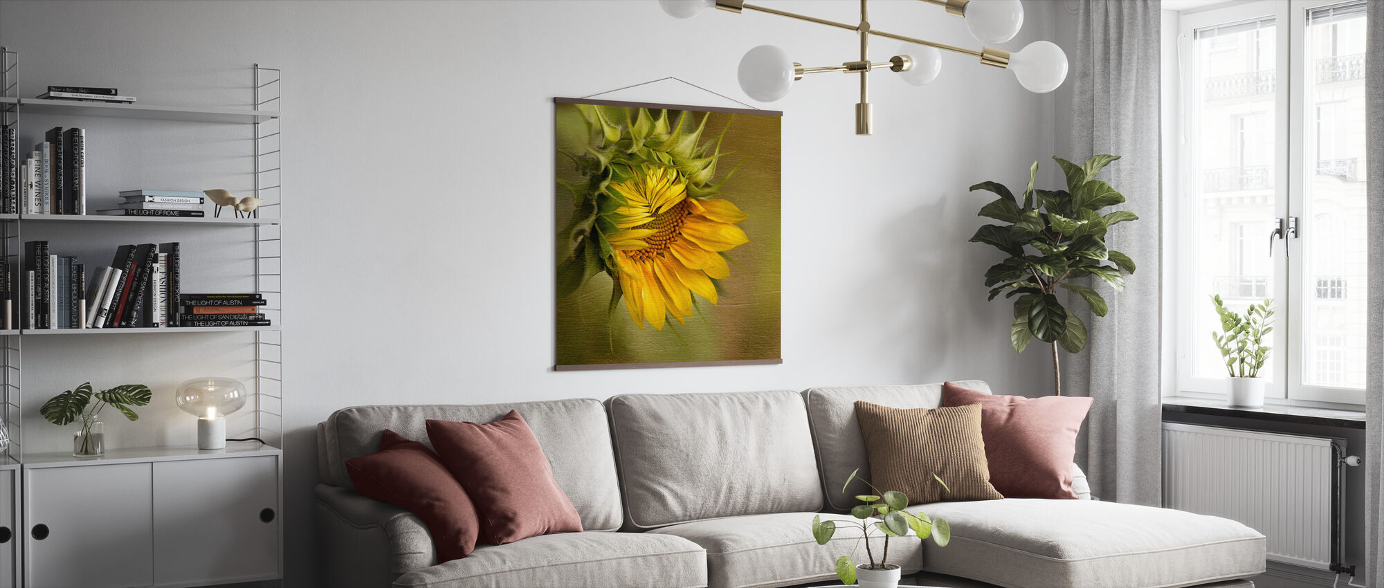 Summer's Beauty - Poster - Living Room