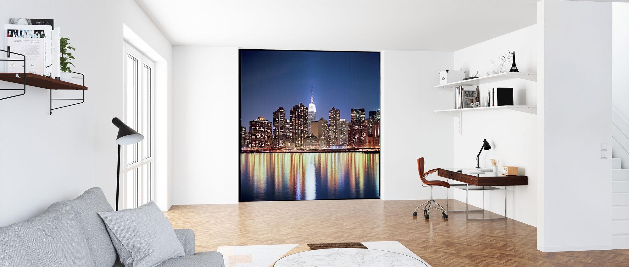 New York nattreflektioner - Tapet - Kontor