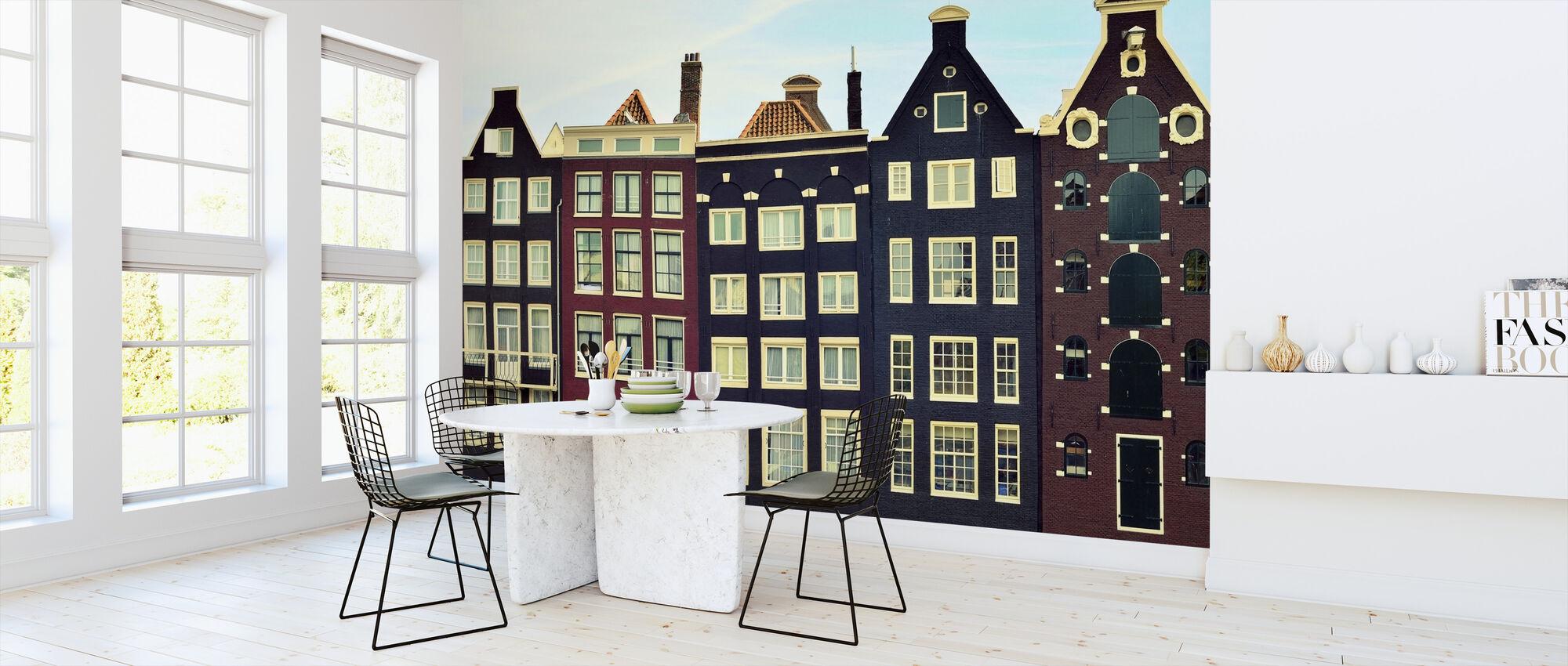 Amsterdam huse - Tapet - Køkken