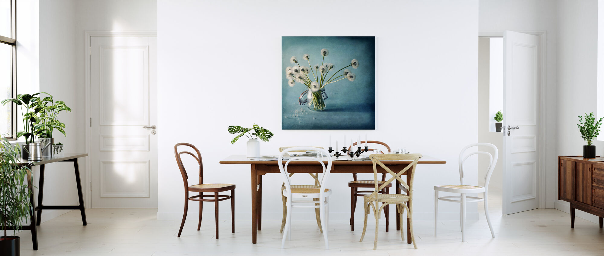 Wensen opslaan - Canvas print - Keuken