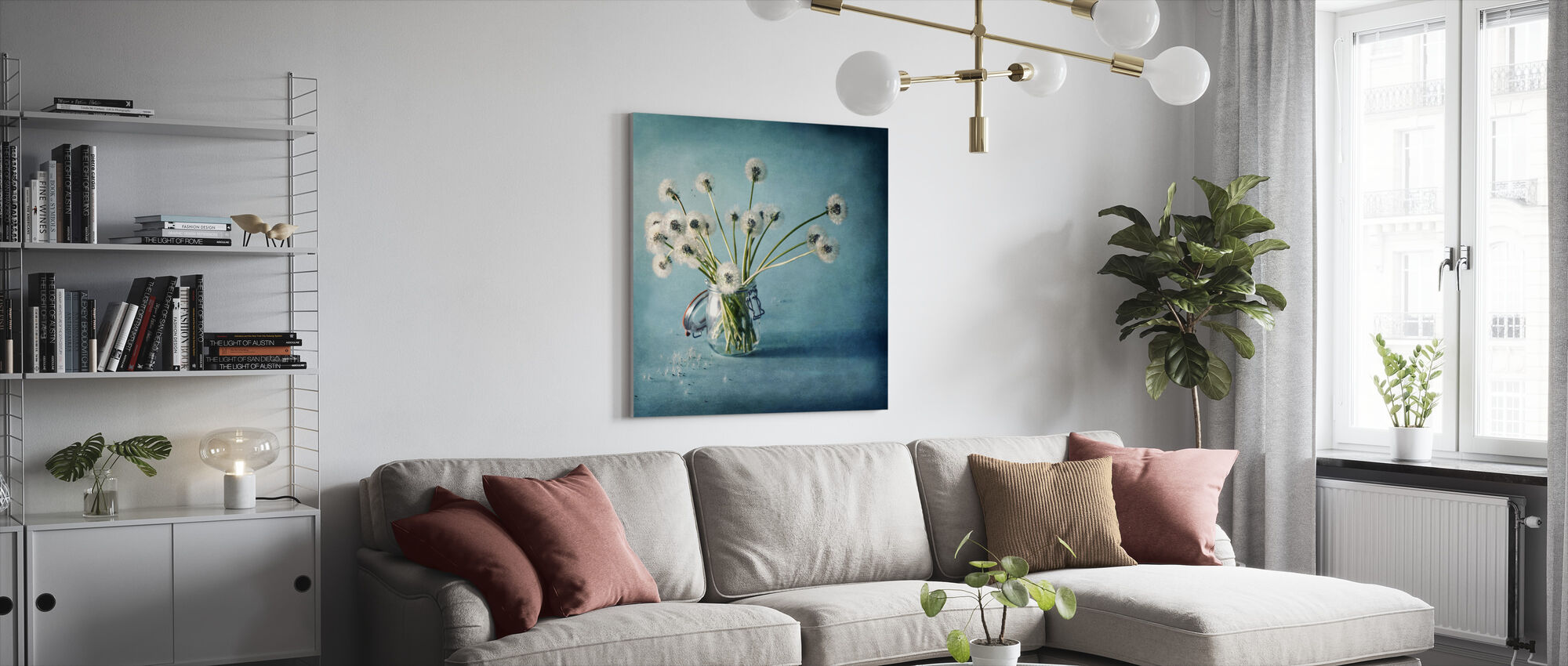 Storing Wishes - Canvas print - Living Room