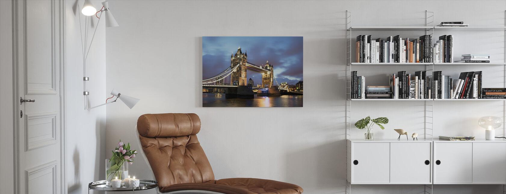 ikonische Brücke - Leinwandbild - Wohnzimmer