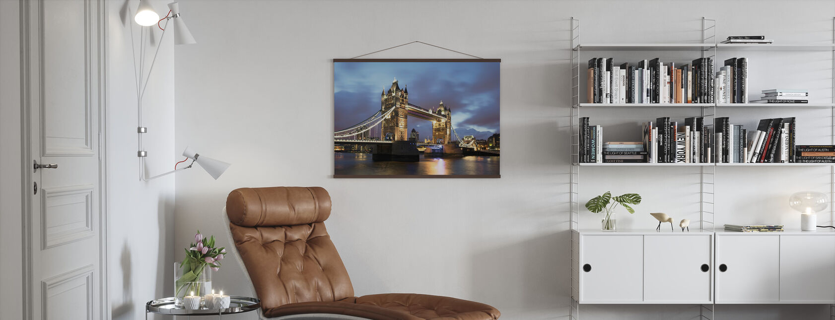 Iconic Bridge - Poster - Living Room