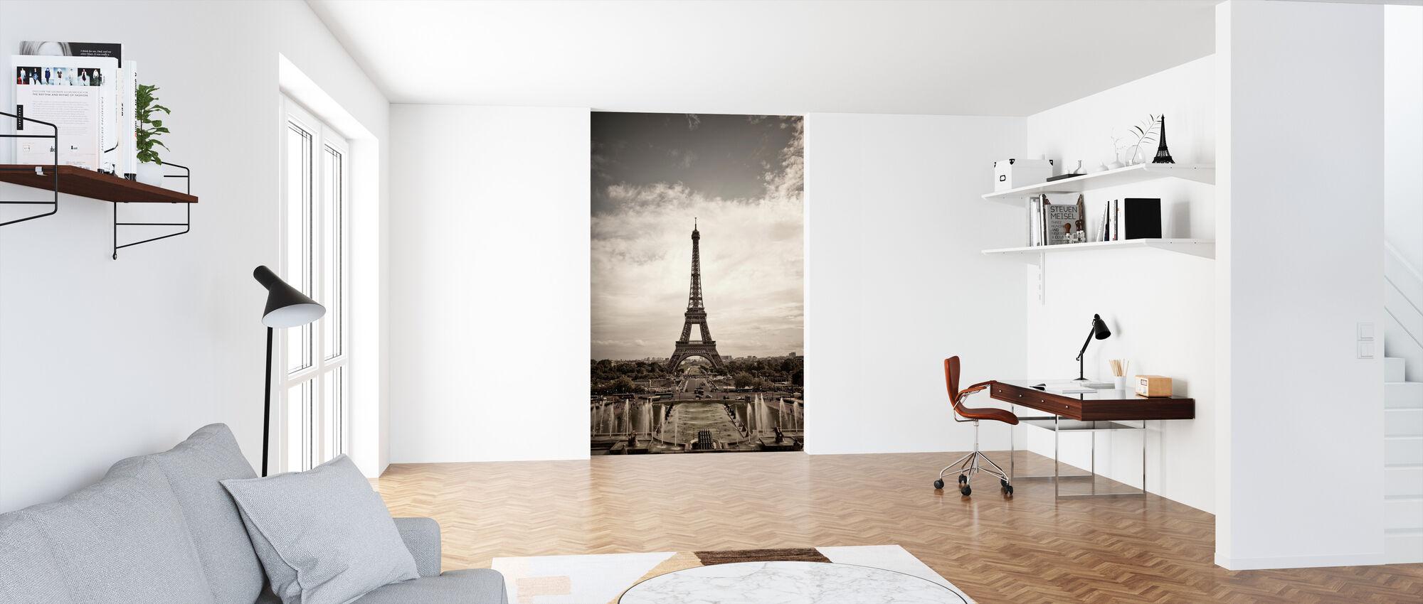 Eiffeltårnet sett Fra Palais de Chaillot - Tapet - Kontor