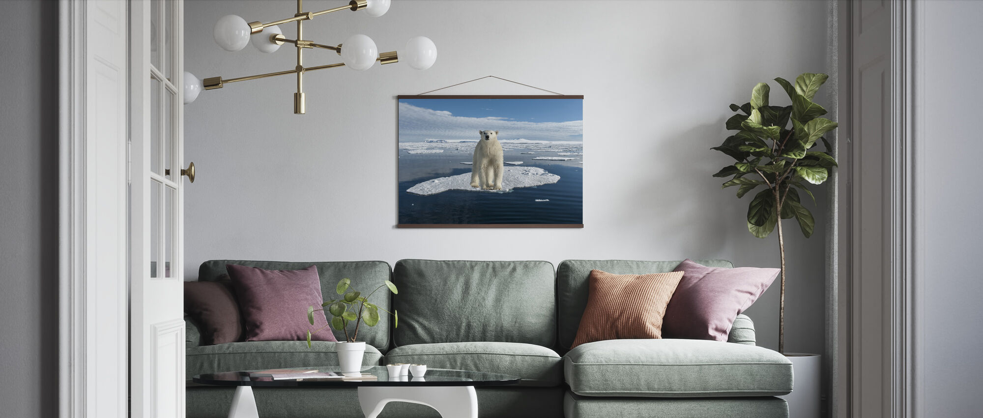 On Thin Ice - Poster - Living Room