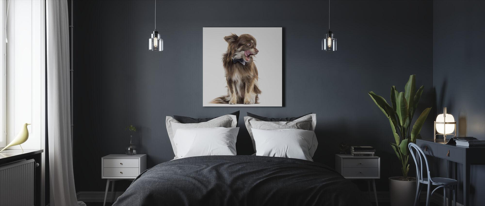 Chihuahua - Canvastaulu - Makuuhuone