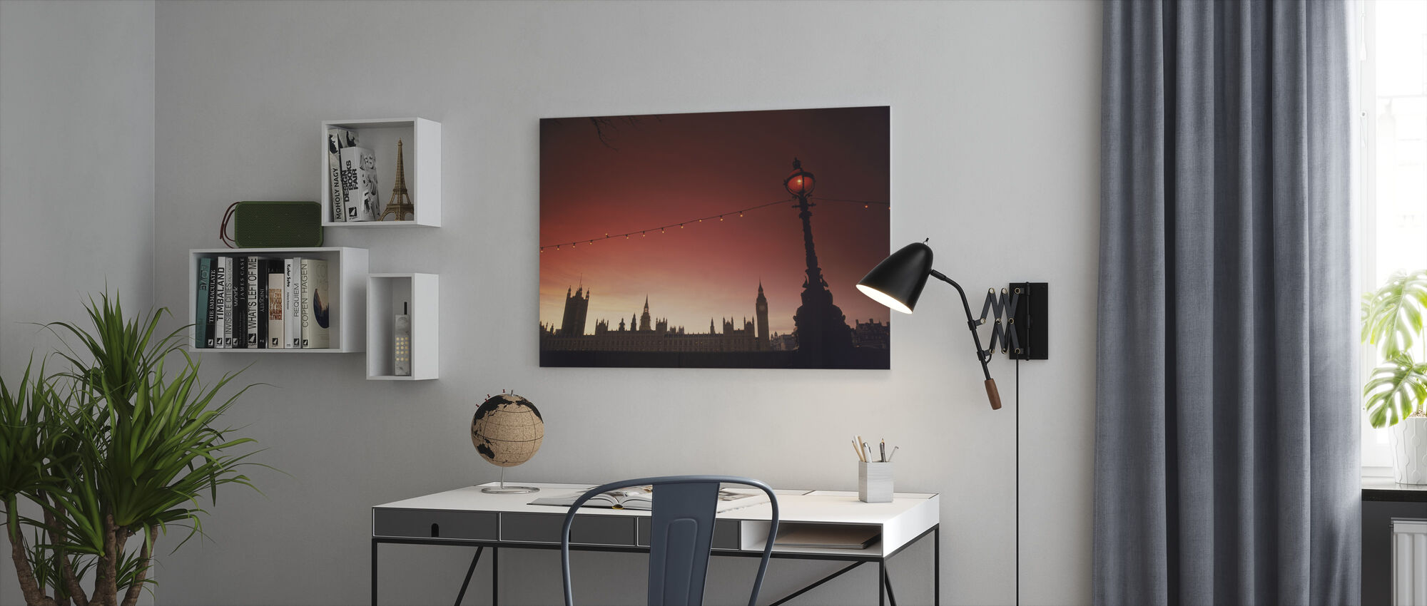 A Study in Scarlet, London - Canvas print - Office