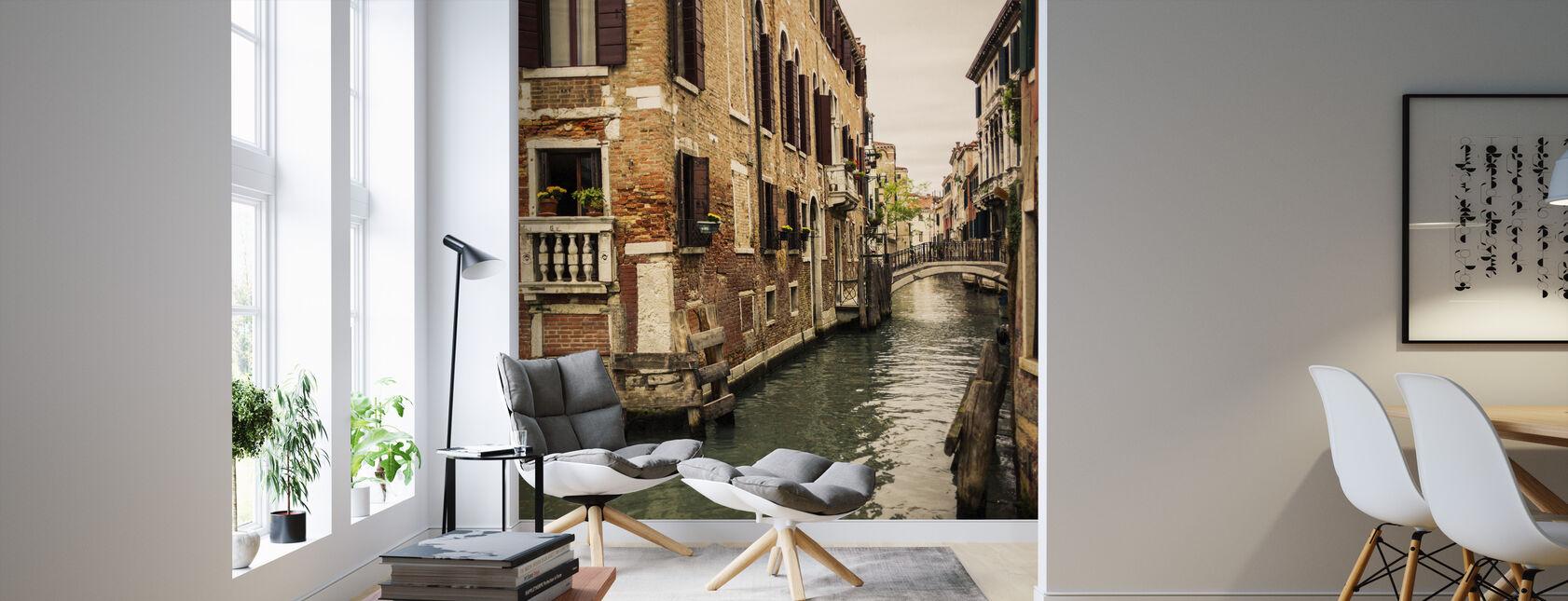 Tiilet ja sillat Venetsiassa - Tapetti - Olohuone